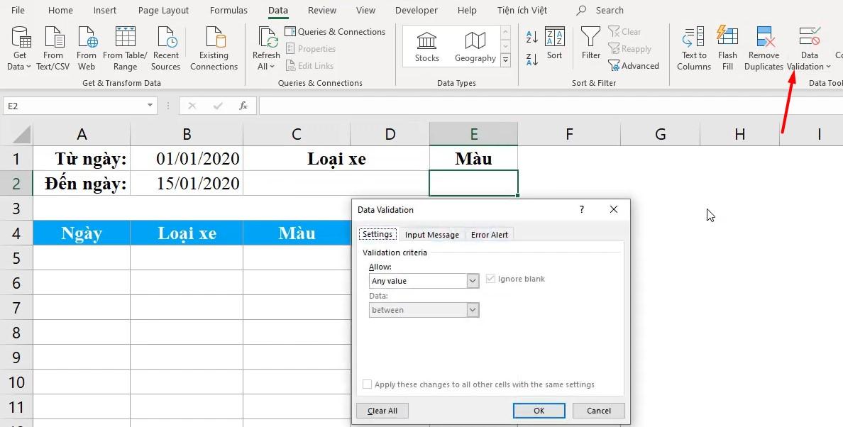 Hàm Unique - Lọc giá trị duy nhất dành cho Office 365
