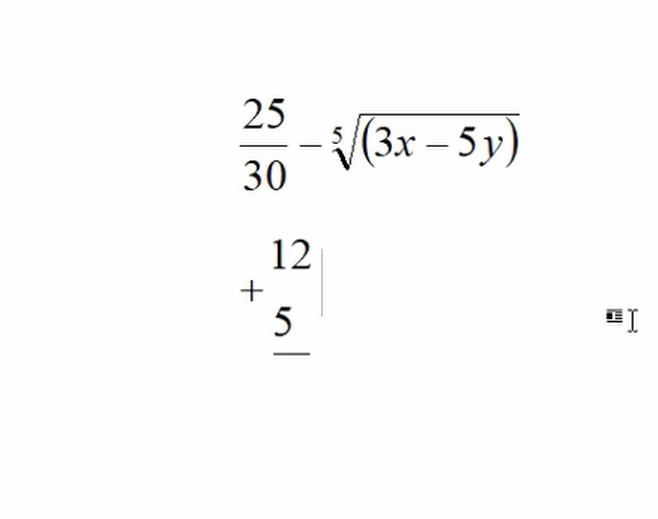 Chèn công thức toán học trong Word 365 6