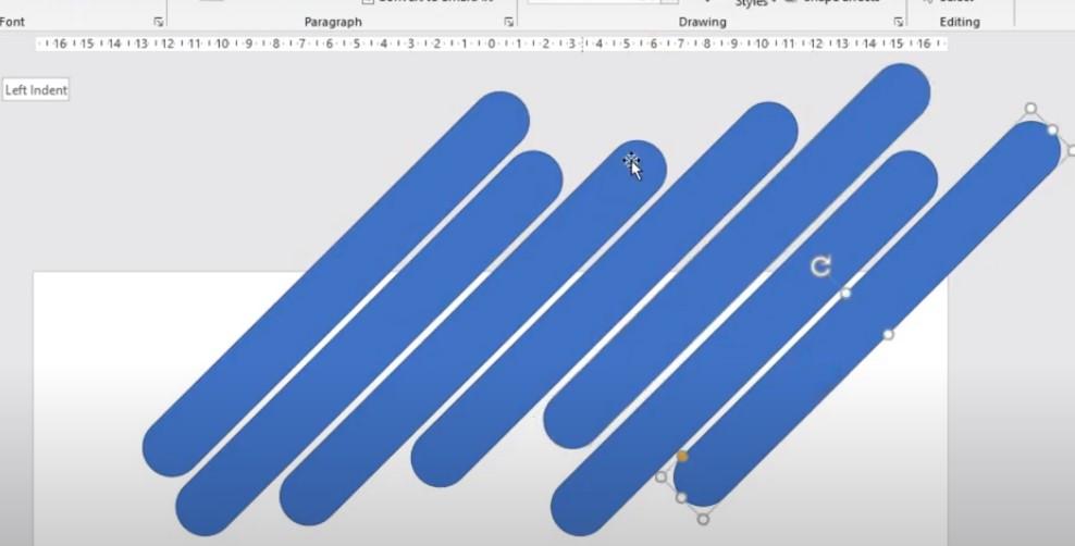 Bạn bôi đen tất cả hình khối và bấm vào phần Format, chọn Shape Outline và chọn No Outline