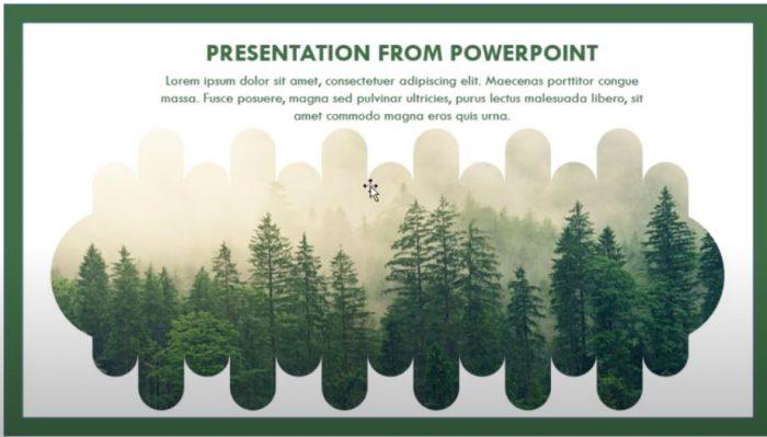 Hướng dẫn thiết kế tạo hình slide nền powerpoint.