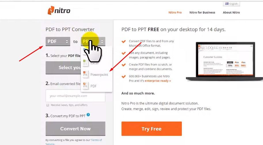Hướng dẫn chuyển file PDF sang PowerPoint nhanh nhất 2