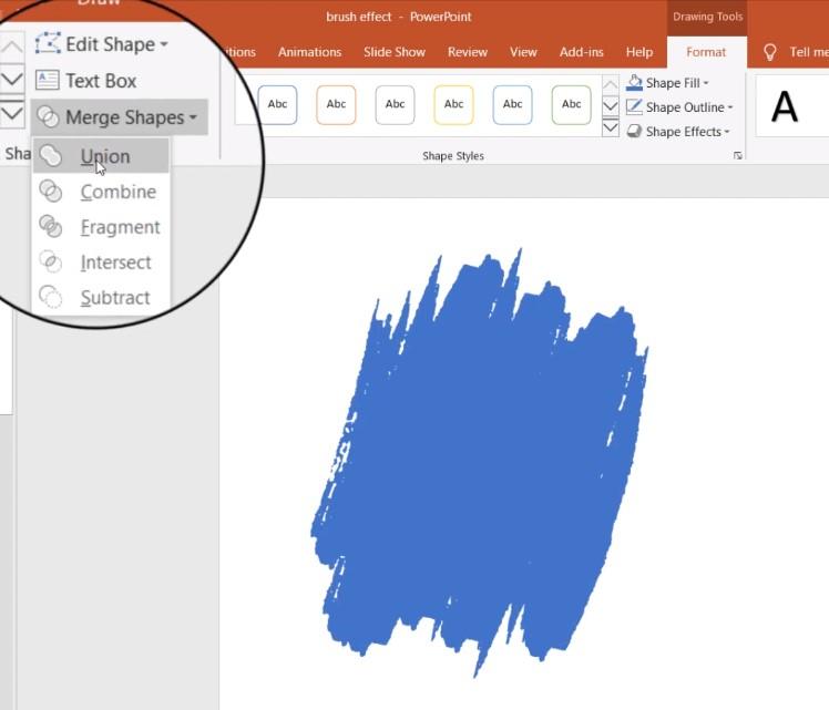 Hướng dẫn tạo hiệu ứng cọ vẽ cho hình ảnh Powerpoint 2