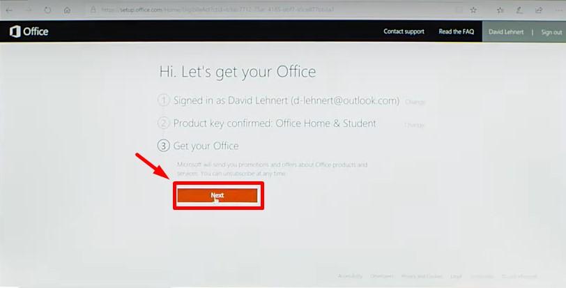 Office 2019 Home and Student – Key active trên tài khoản của bạn 50
