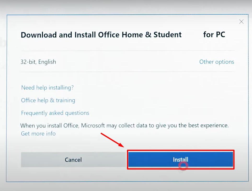 Office 2019 Home and Student – Key active trên tài khoản của bạn 52