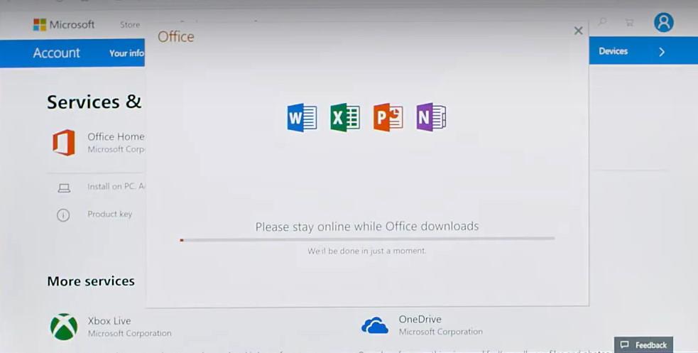 Office 2019 Home and Student – Key active trên tài khoản của bạn 55