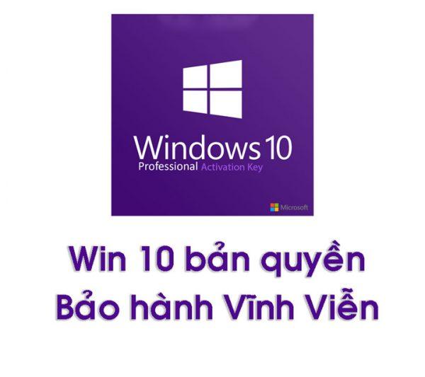 Key Win 10 Pro Vĩnh Viễn Theo Máy - Cài Lại Win Vẫn Active Được 1