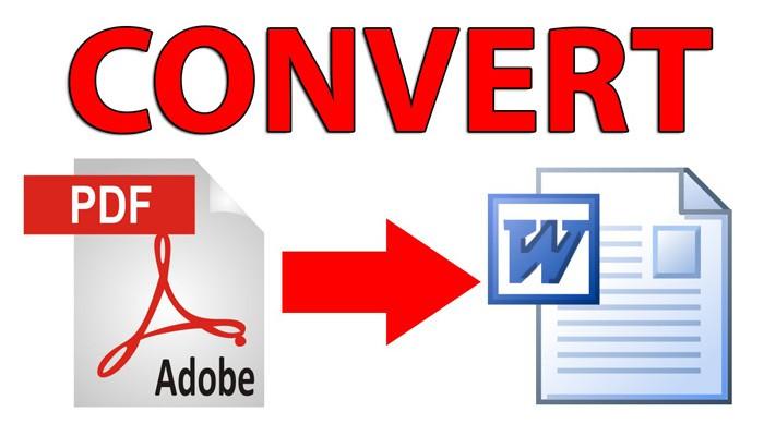 Chuyển từ file PDF sang file Word và từ Word sang PDF