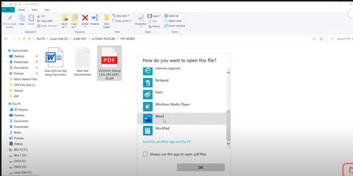 Những ứng dụng chuyển PDF sang Word trong 1 giây vô cùng đơn giản