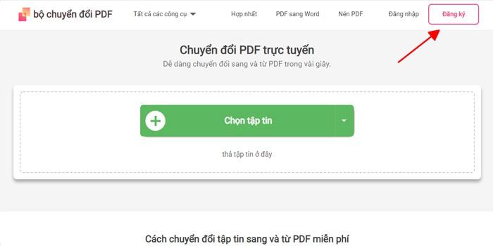 Cách chuyển file PDF sang Word không cần phần mềm, dễ thao tác