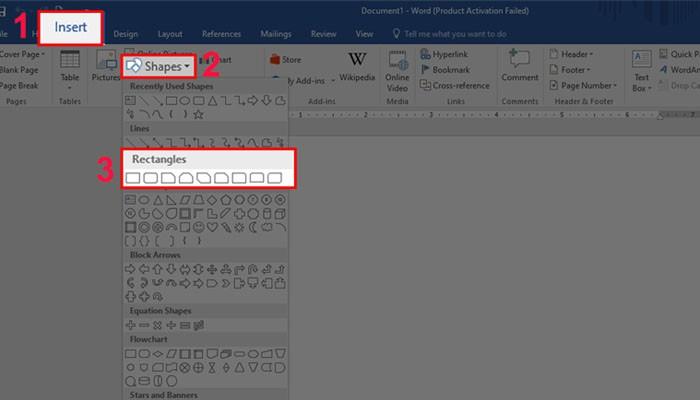 Tổng hợp các cách tạo khung trong Word bạn nên biết