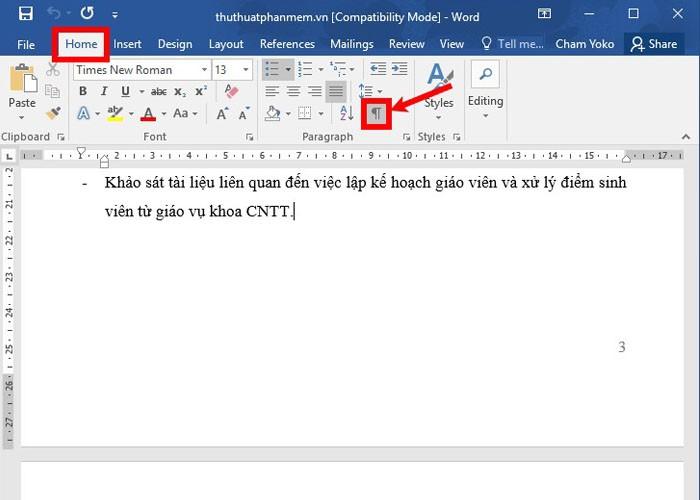 Cách xóa 1 trang trong Word bất kỳ đơn giản nhất