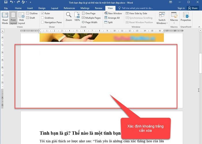 Chi tiết các cách xóa trang trong Word hiệu quả