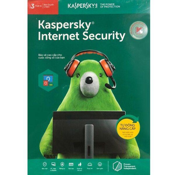 Kaspersky Internet Security - 3PC/Năm - Key KIS 3 Thiết Bị Tốt Nhất Cho Máy Tính 1