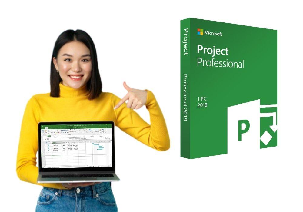 Key Microsoft Project 2019 Professional Active Trên Tài Khoản Của Bạn 9