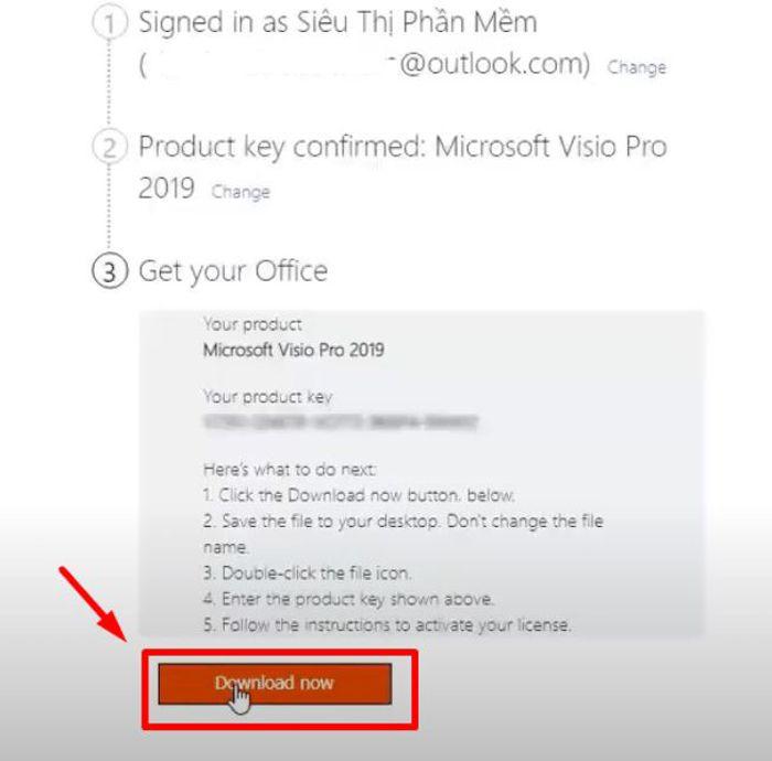 Mua Key Visio Professional 2019 Active Trên Tài Khoản Microsoft Của Bạn 21