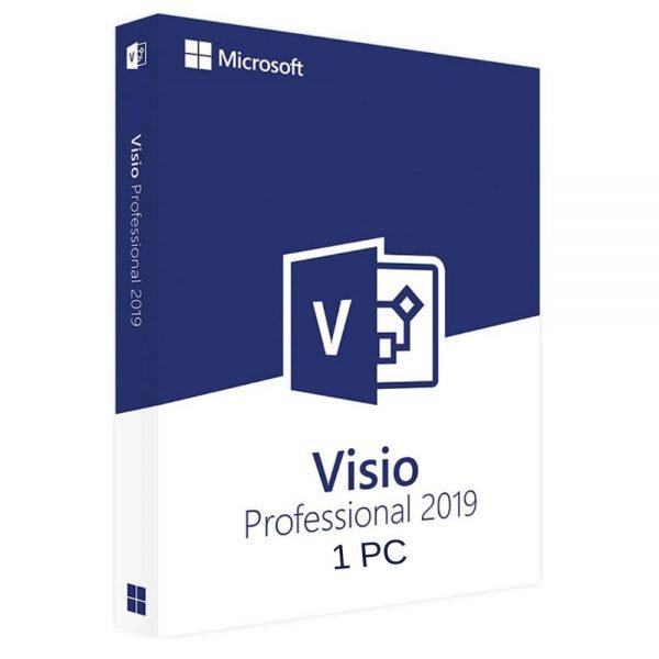 Mua Key Visio 2019 Professional Bản Quyền Vĩnh Viễn Trên 1 PC 1