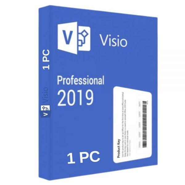 Mua Key Visio 2019 Professional Bản Quyền Vĩnh Viễn Trên 1 PC 2