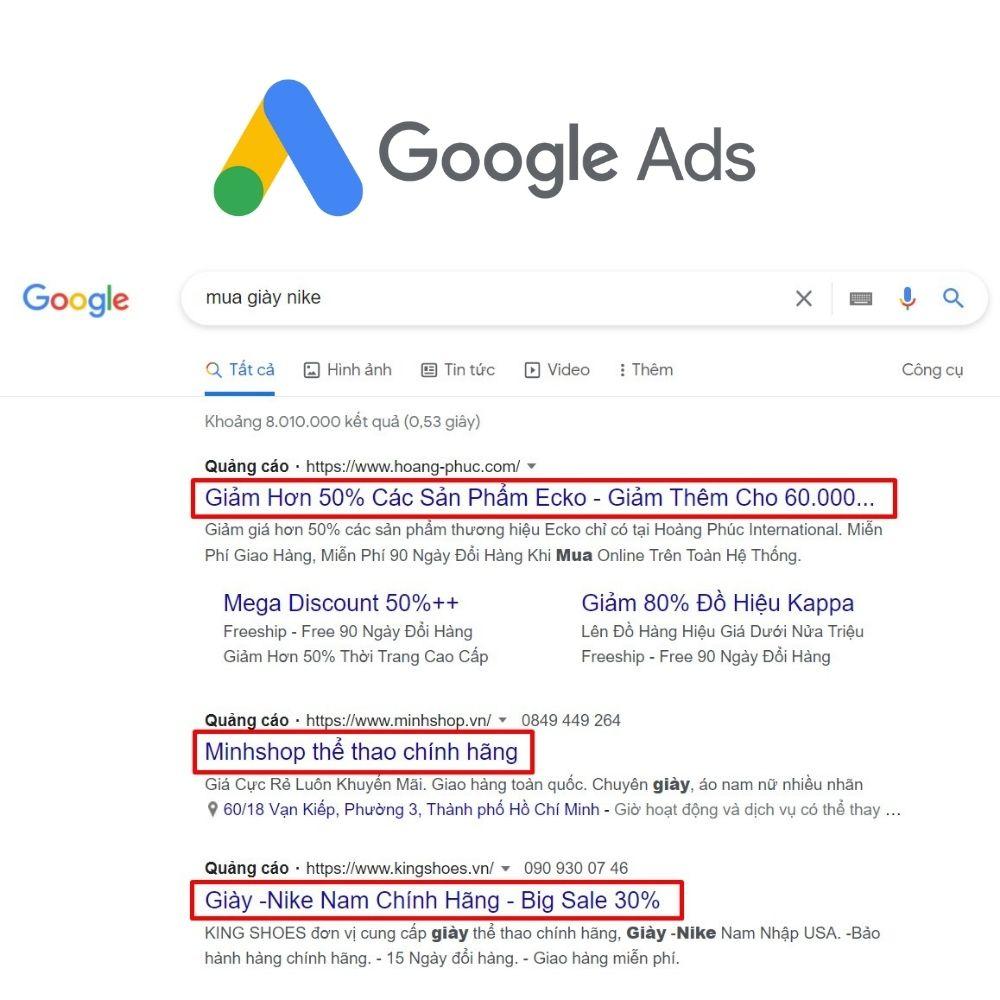 Dịch vụ chạy quảng cáo Google Ads 1